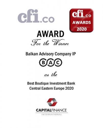 CEE 2020 by Capital Finance Magazine